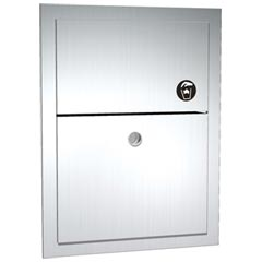 American Specialties 0473 Stainless Steel Recessed Wall