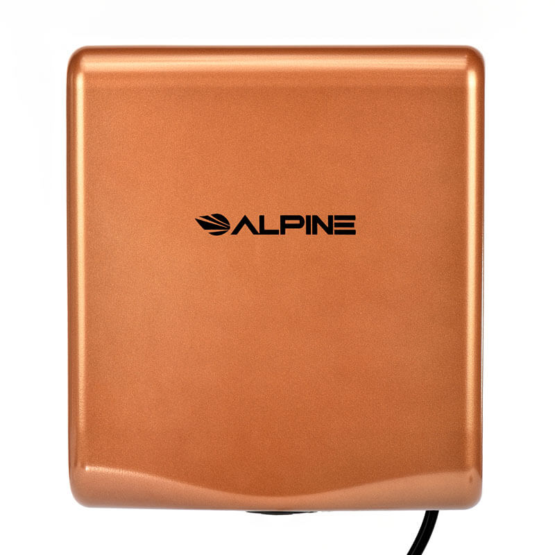 Alpine WILLOW High Speed Commercial Hand Dryer, 120V, Coffee  ALP-405-10-COP