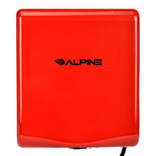 Alpine WILLOW High Speed Commercial Hand Dryer, 120V, Red ALP-405-10-RED