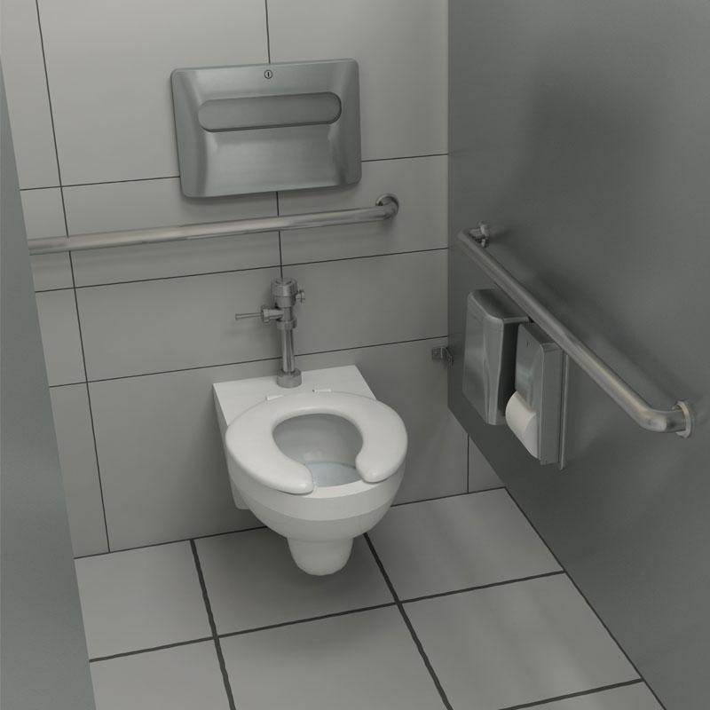 Bulk Toilet Paper >> Diplomat Surface Mounted Seat Cover Dispenser - UnoClean