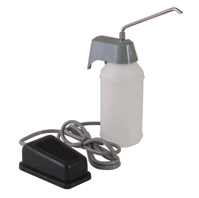 Foot Operated Surgical Soap Dispenser Unoclean