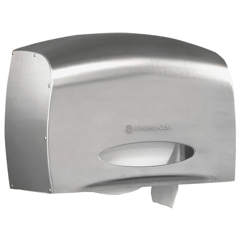 Coreless Jrt Bath Tissue Dispenser E Z Load 6 X 9 8 X 14