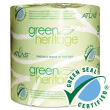 Atlas Green Heritage Toilet Paper Roll