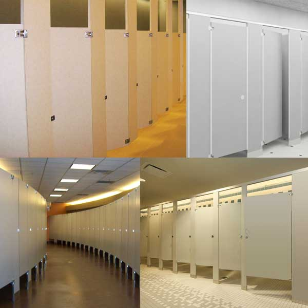 Restroom Toilet Partition Systems Unoclean