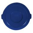 2631 Brute Round Trash Can Lid - 32 Gallon - Blue