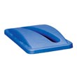 Rubbermaid Slim Jim Paper Recycling Top - Blue