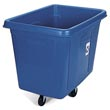 Rubbermaid Bulk Recycling Cube Truck - 500 lb. Capacity