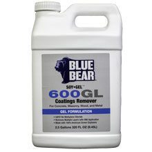 Paint, Varnish and Coatings Remover 600GL SOY Gel - 2.5 Gallon FRM-SG2GWD