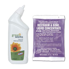 Green Eco Friendly Bathroom Cleaners