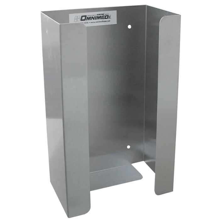 Stainless Steel Single Glove Box Holder Unoclean