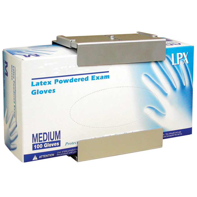 Adjustable Glove Box Holder Single Unoclean
