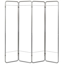 Economy Folding Privacy Screen Frame - 4-Section