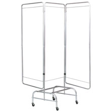 King Frame - 3-Section Mobile Privacy Screen