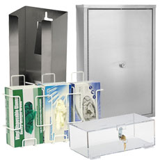Wall-Mounted Cabinets & Dispensers