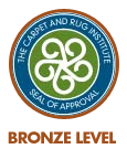 CRI Certified Cleaning Product - Bronze Level