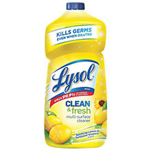 All-Purpose Cleaner, Lemon Breeze Scent, Liquid, 40 oz. Bottle