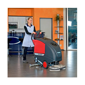 Cleanfix RA605 Battery Operated Floor Scrubber