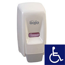 GOJO 800 Series Bag-in-Box Dispenser - White