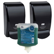 AeroGreen Antibacterial Foam Soap Value Pack - Black