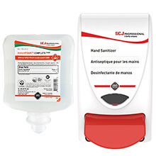 Alcohol Hand Sanitizing Kit, InstantFOAM - 1 Liter SBS-IFS-1L