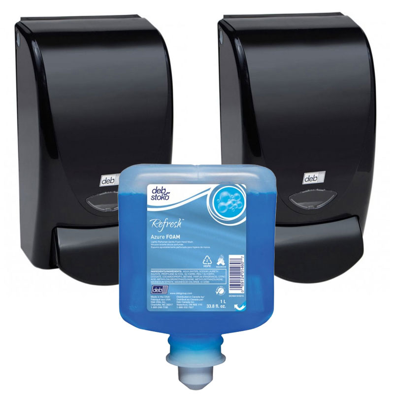 Aeroblue Azue Hand Amp Body Shampoo Dispensing System Unoclean