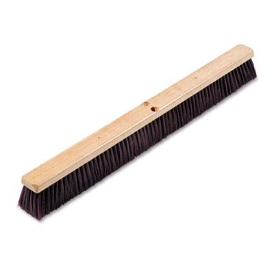 Proline Stiff Polypropylene Floor Brush Push Broom 36
