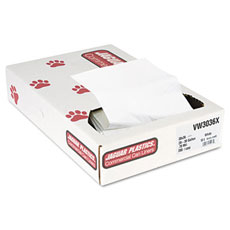 Extra Heavy Value White Commercial Can Liners