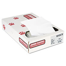 Jaguar Plastics High-Density Commercial Can Liners - Bulk Pack - 38 x 60 - Heavy Grade - Natural Color JAGH3860H
