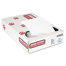 Jaguar Plastics High-Density Commercial Can Liners - Bulk Pack - 38 x 60 - Super/Extra Heavy Grade - Natural Color JAGH3860S