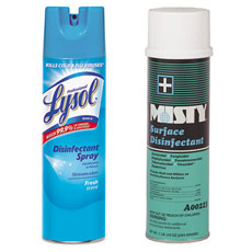 Disinfectants & Germicides Aerosol