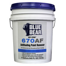 670AF Antifouling Paint Remover - 5 Gallon