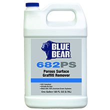 Porous Surface Graffiti Remover Blue Bear 682PS - 1 Gallon FRM-PS1GWD