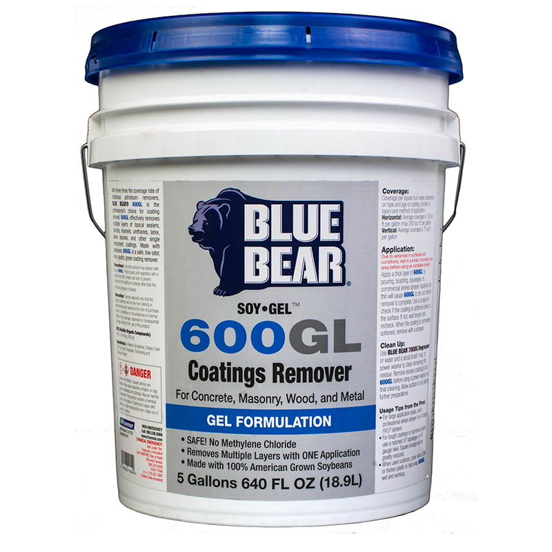 Soy Gel Paint Remover 5 Gallon Unoclean