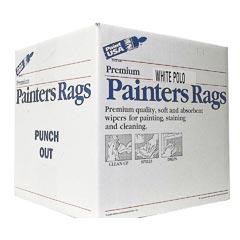 premium quality white polo painters rags 10 lb box - Box Of Rags
