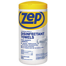 603948 Zep Clean'Ems Spirit II Disinfectant Towelettes (80-Count)