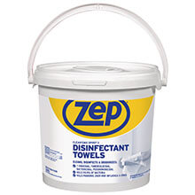 619087 Zep Clean'Ems Spirit II Disinfectant Towelettes (300-Count)