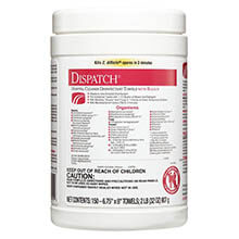 Dispatch Healthcare Disinfectant Towel w/ Bleach