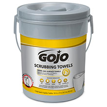 Gojo Heavy-Duty Scrubbing Wipes