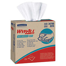 Kimberly Clark WypAll® X60 Reinforced Wipers in POP-UP® Box KCC34790