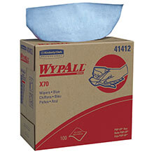 Kimberly Clark WypAll® X70 Manufactured Rags in POP-UP® Box KCC41412