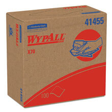 Kimberly Clark WypAll® X70 Manufactured Rags in POP-UP® Box KCC41455