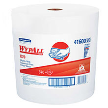 Kimberly Clark WypAll® X70 Manufactured Jumbo Roll Rags KCC41600