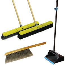 Brooms & Accessories - Golden Star