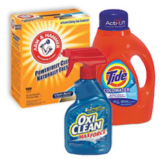 Laundry Detergent & Fabric Softeners