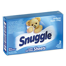 Diversey Snuggle Fabric Softener Sheets