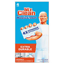"Mr. Clean Magic Eraser Extra Power - 4.60"" x 2.40"" - (8) 4 Sponges PGC82038"