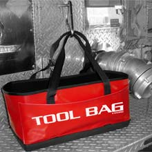 "Tool Bag w/ Tuff Bottom - 21"" x 9"" x 9.5"" RF-443RD"