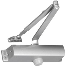 1-4 ADA Door Closer - Aluminum 211001