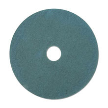 "Premiere Pads Floor Machine Ultra High Speed Burnishing Pad - Aqua - (5) 17"" Dia. Pads"