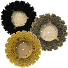 Natural Fiber Scrubbing Brushes